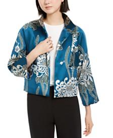 N Natori Chrysanthemum Jacket