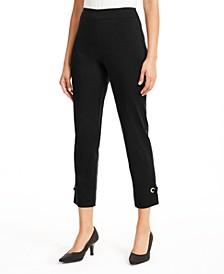 Grommet-Hem Ankle Pants, Created for Macy's