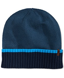 Men's Colorblocked Cuffed Hat