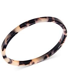 Patterned Acetate Bangle Bracelet