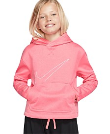 Nike Big Girls Graphic Training Pullover Hoodie