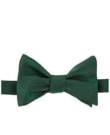 Tommy Hilfiger Men's Textured Stripe To-Tie Silk Bow Tie