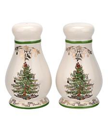 Spode Christmas Tree Salt and Pepper Set