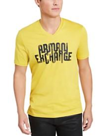 A|X Armani Exchange Men's Looped Logo T-Shirt