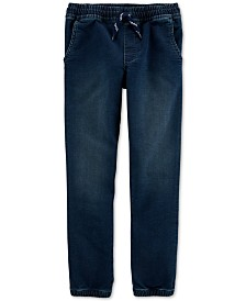 Carter's Little & Big Boys Pull-On Denim Jogger Pants