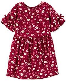 Toddler Girls Floral-Print Dress
