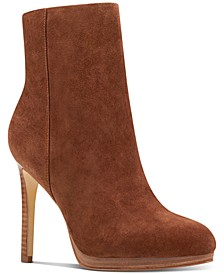 Querida Platform Booties