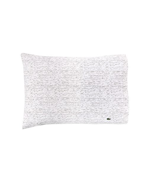 Lacoste Home Lacoste Textured Dashes Std Pillowcase Pair