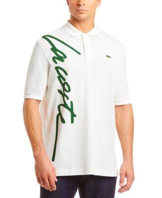 Men's L!VE Over-Sized Script Logo Polo Shirt