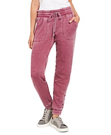 Smocked Burnout Joggers, Created for Macy's