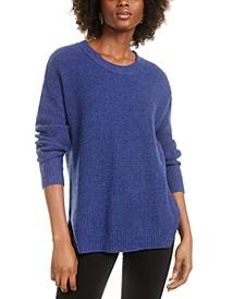 Juniors' Long-Sleeve Sweater