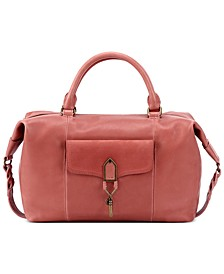 Sierra Leather Convertible Satchel