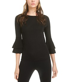 Anne Klein 3/4-Sleeve Sweater