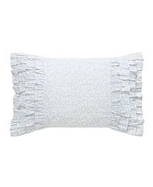 Laura Ashley Chloe Ruffle Throw Pillow