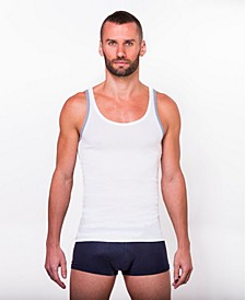 100% Certified Egyptian Cotton Tank - 2 Pack