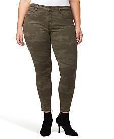 Sanctuary Denim Social Standard Camo Printed Skinny Ankle Jeans