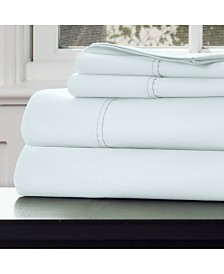 Baldwin Home Cotton Rich Sateen 4 Piece Queen Sheet Set