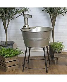 VIP Home & Garden Galvanized and Metal Galvanized Tub