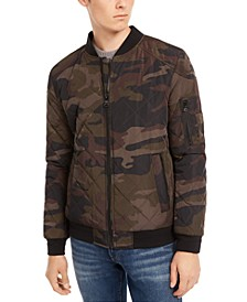 Men's Quilted Bomber Jacket, Created for Macy's