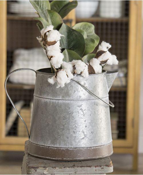 VIP Home & Garden Metal Bucket with Handle