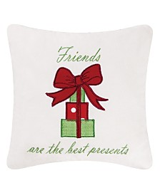C&F Home Best Presents Embroidered Pillow