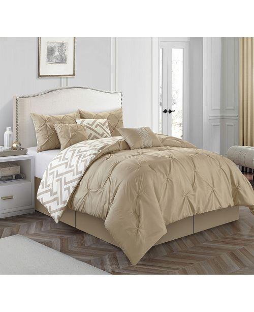 Nanshing Loren 7-Piece California King Comforter Set