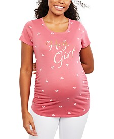 Motherhood Maternity Hey Girl™ Graphic Tee