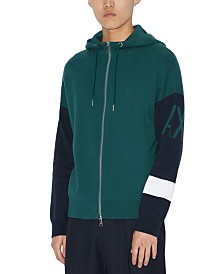 A|X Armani Exchange Men's Colorblocked Hoodie