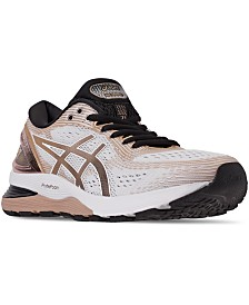 Asics Women's GEL-Nimbus 21 Platinum Running Sneakers from Finish Line