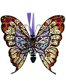 Vibrant Butterfly Ornament