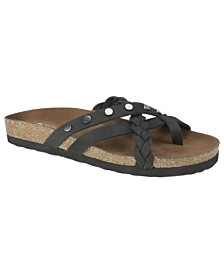 White Mountain Harvest Footbed Sandals