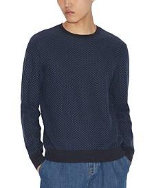 A|X Armani Exchange Men's Textured Sweatshirt