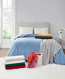 Soft Fleece Blankets, Created for Macy's