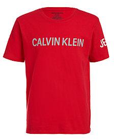 Calvin Klein Jeans Big Boys Bold Icon T-Shirt