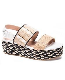 Zuzu Double Band Flatform Sandals