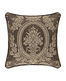 "Five Queens Court Neapolitan 18"" Square Decorative Throw Pillow"