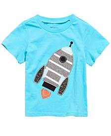Toddler Boys Cotton Rocket Ship T-Shirt, Created for Macy's