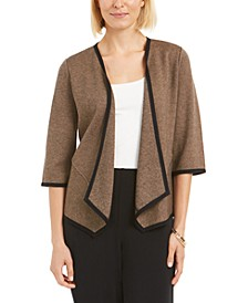 Drape-Front Cardigan, Created for Macy's