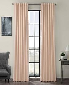 "Exclusive Fabrics Furnishings Blackout Curtain 108"" x 50"" Curtain Panel"