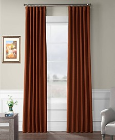 "Exclusive Fabrics Furnishings Bellino Blackout Curtain 84"" x 50"" Curtain Panel"