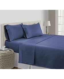 Addy Home 100% Long Staple Pima Cotton 4-piece Sheet Set, Cal King