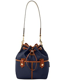 Dooney & Bourke Wayfarer Nylon Drawstring Hobo