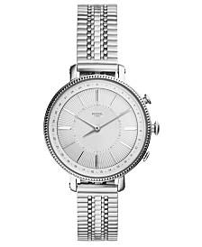 Fossil Women's Tech Cameron Stainless Steel Bracelet Hybrid Smart Watch 36mm