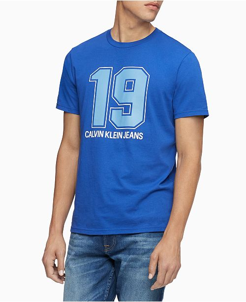 Calvin Klein Jeans Men's 19 Graphic T-Shirt