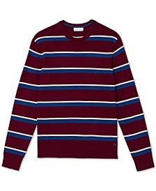 Men's Bi-Color Striped Sweater