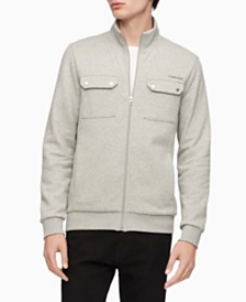 Calvin Klein Men's Fleece Zip-Up Jacket