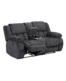 Seymore Manual Motion Reclining Loveseat