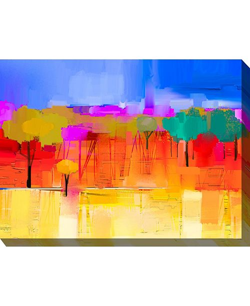 """West of the Wind City Park Wall Art, 40"""" x 30"""""""
