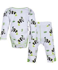 Miracle Baby Long Sleeve Bodysuit and Pant Outfit