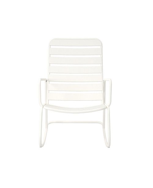 Novogratz Collection Novogratz Poolside Collection Roberta Outdoor Rocking Chair